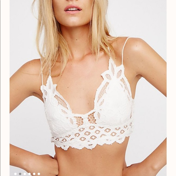 Free People Other - Free People Adella Bralette in white